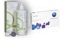 6X BIOFINITY + 360ML. QUEENS UNIYAL