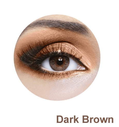 Dark Brown spalva