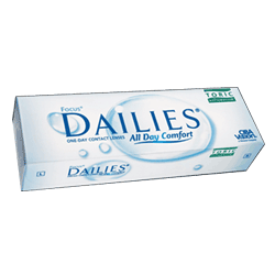 FOCUS DAILIES ALL DAY COMFORT TORIC - 30 lęšių